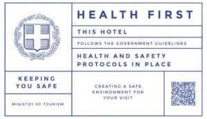 The Epic Blue Mykonos Hotel follows the official government guidelines for health and safety.
