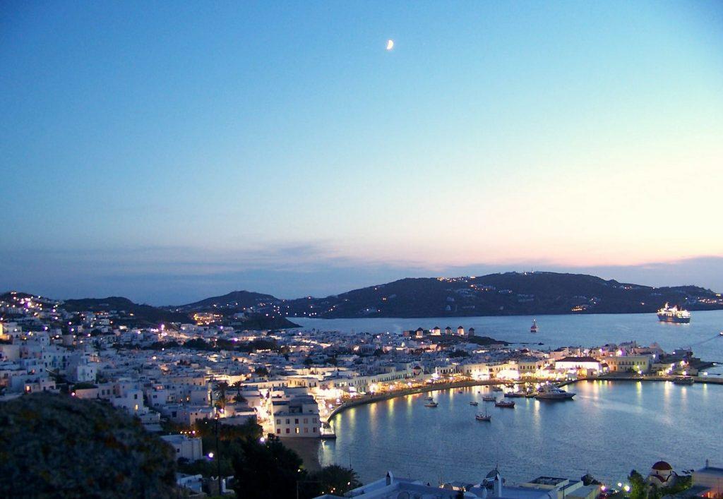 Mykonos island in the Cyclades
